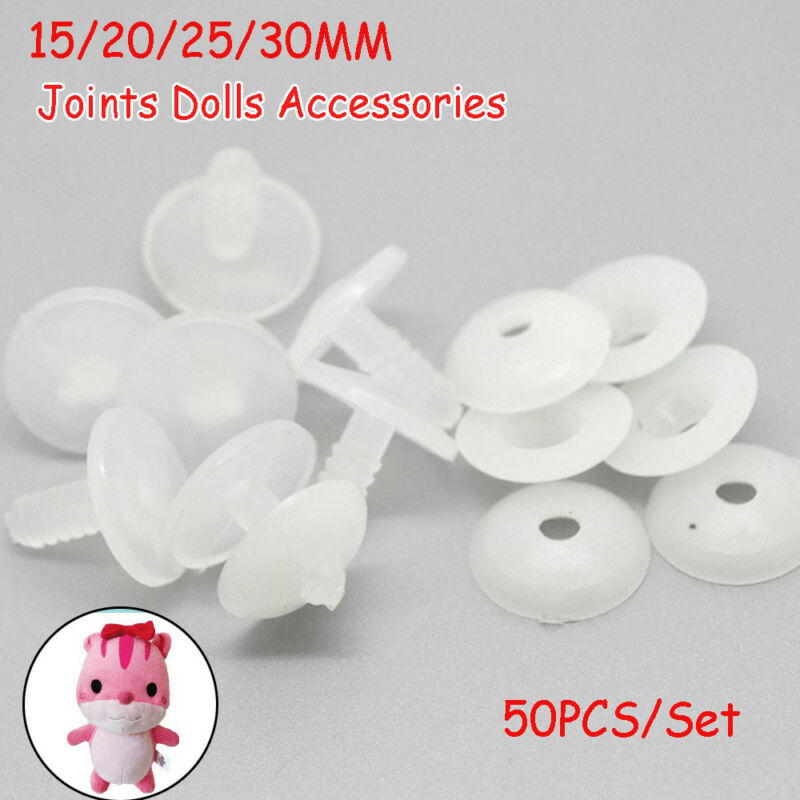 50sets Plastic Animal Joints for Dolls Soft Toys/Teddy Bear Making Crafts