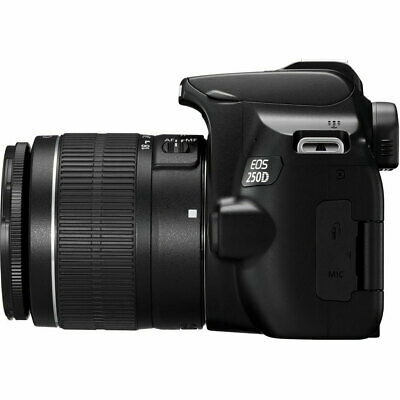 Canon EOS 250D / SL3 with EF-S 18-55mm f/3.5-5.6 III Lens (Black) 4