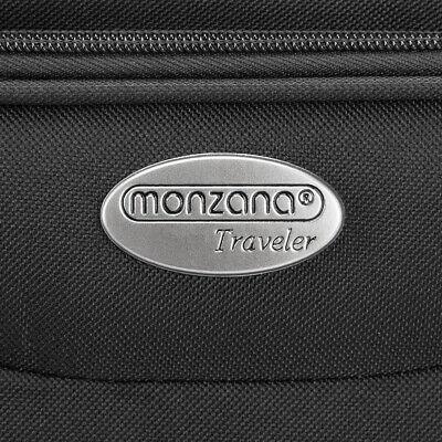 Kofferset Reisekoffer 5 Taschen Trolley Reise Koffer Set Tasche S M L XL schwarz 10