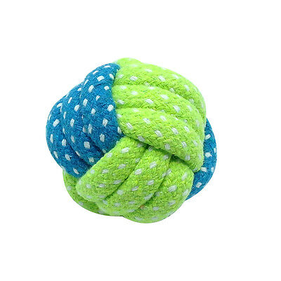 Braided Cotton Rope Pet Dog Interactive Toys for Dogs Chews Bite Training Play 8