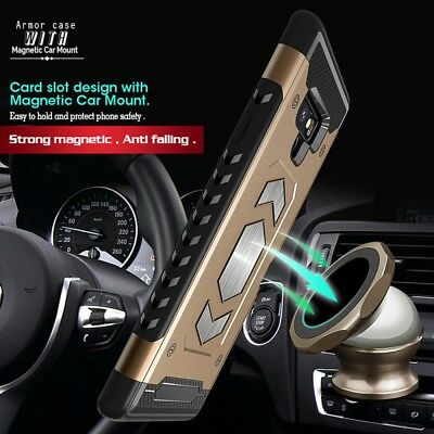 Body Armor Fits Samsung Galaxy Case Card Holder Slot for Magnetic car Mount 4