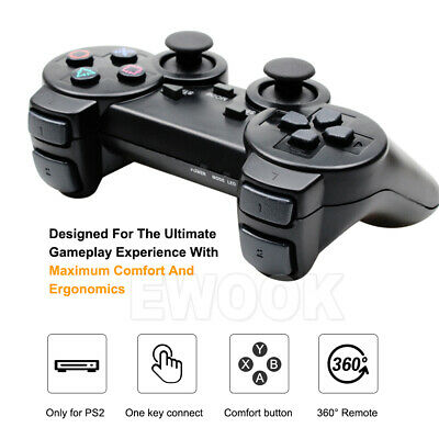 For PS2 PlayStation 2 Wire Cable Controller Dual Shock Gamepad Console Joypad OZ 6