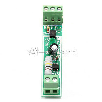 for PLC AC 220V 1-Bit Optocoupler Isolation Module Voltage Detect Board Adaptive 2