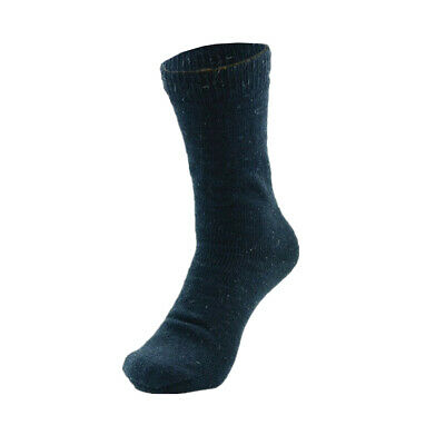 3 Pairs Mens Heavy Duty Winter Thermal Work Boots Wool Cotton Crew Socks 9-13 4