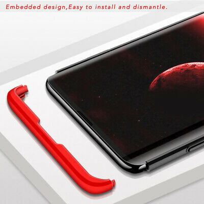 Thin Shockproof Slim Case + Screen Protector For Samsung Galaxy S10/S9/S8 Plus 7