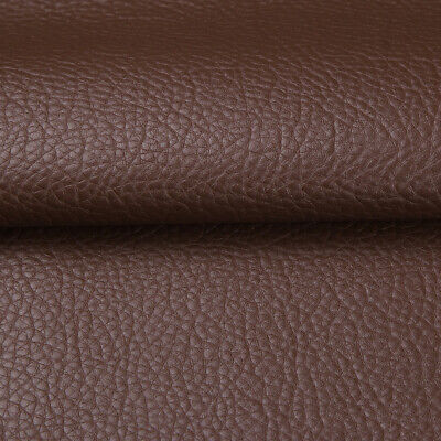 """Vinyl Faux Leather Fabric Litchi Pleather Upholstery Fabric 54"""" Wide By the Yard 7"""