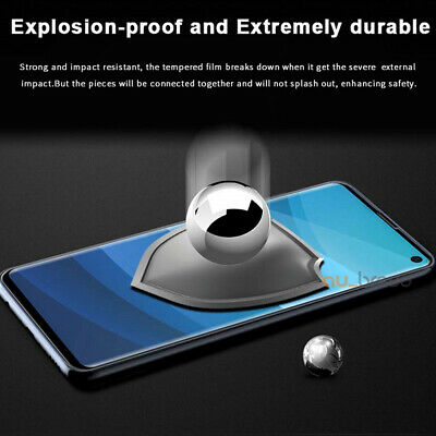 Samsung Galaxy S10 5G S9 S8 Plus Note 10 9 8 Tempered Glass Screen Protector 6
