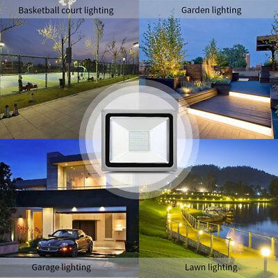 LED Flutlicht Fluter Strahler SMD Außen Scheinwerfer 10W 20W 30W 50W 100W 1000W 7
