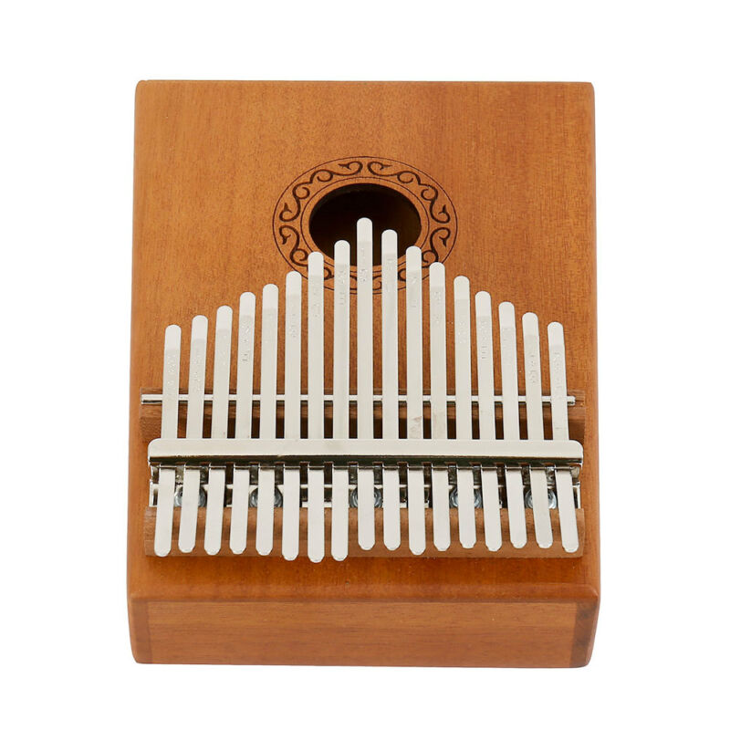 17-key Kalimba Portable Thumb Piano Mbira Mahogany Wood with Carry Bag au 5