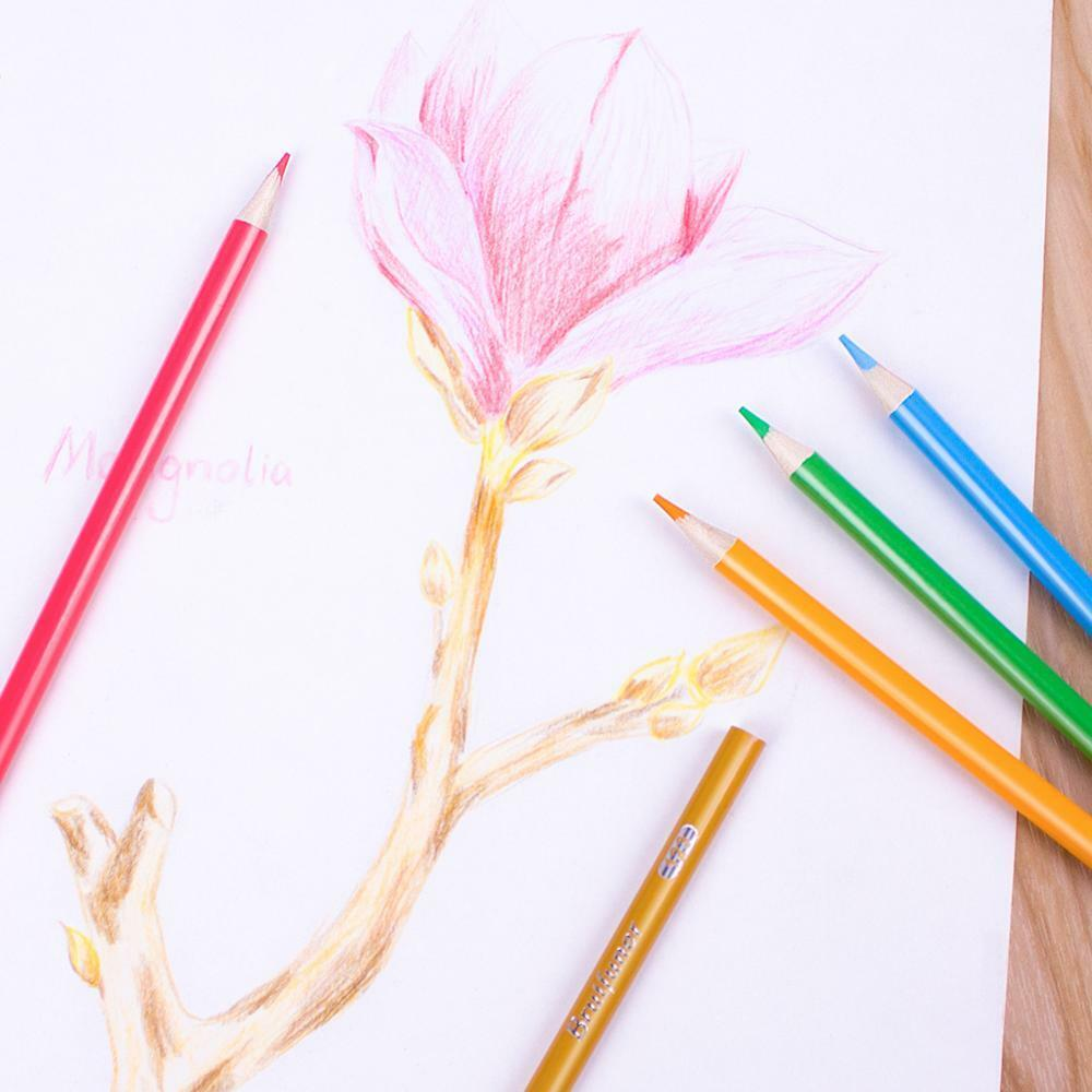 48 72 120 160 Colors Wood Colored Pencils Set Oil Based HB School Drawing Sketch 6