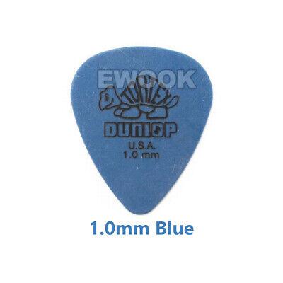 6X / 12X Jim Dunlop Tortex Standard Plectrums Mixed Pro Gauges Guitar Picks AU 10