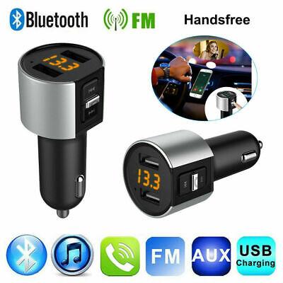 Bluetooth Car Kit FM Transmitter Radio MP3 Player USB Charger Wireless Handsfree 2