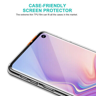 Galaxy S10 S10+ S9 S8 Plus ZUSLAB Full Cover Screen Protector for Samsung X 3 6