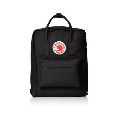 Fjallraven Kanken Canvas Backpack Sport Handbag Waterproof Bag 7L/16L/20L Black 2