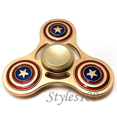 The Flash Fidget Hand Spinner Triangle Metal Marvel DC Toy