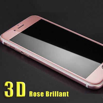 iPhone 6S/6/7/Plus 8/X VITRE EN VERRE TREMPE 3D Film Protection Ecran Intégral 12