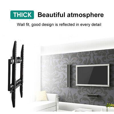 TV WALL MOUNT BRACKET LCD LED Plasma Flat Slim 32 40 42 47 50 52 55 60 65 70 AU 9