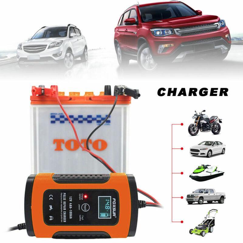 Chargeur de Batterie 6A/12v Voiture Moto Rapide Smart Indicateur LED ME 2