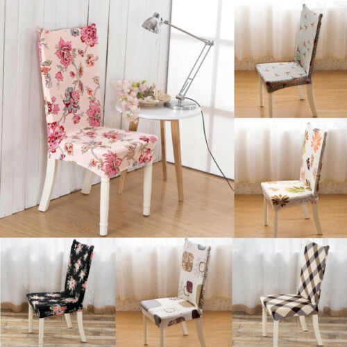 Kitchen Bar Dining Chair Cover Hotel Restaurant Seat Covers Wedding Part Decor 2