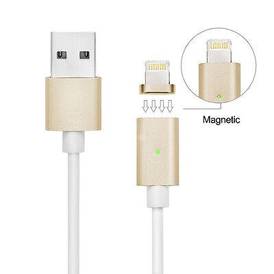 8pin magn tique usb charging c ble cordon chargeur iphone gold plus 5s 5 6 6s eur 9 99. Black Bedroom Furniture Sets. Home Design Ideas