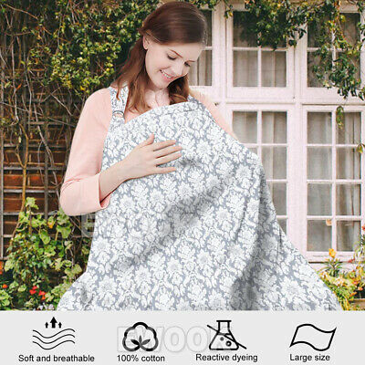 3 in 1 Baby Breastfeeding Nursing Cover Maternity Generous Blanket Cover Cotton 3