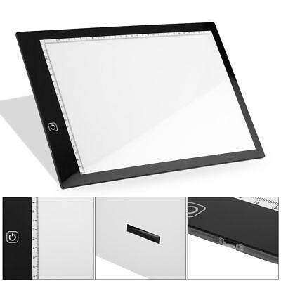 A3 A4 LED Ultra Slim Art Craft Drawing Copy Tracing Tattoo Lights Box Pad Board 11