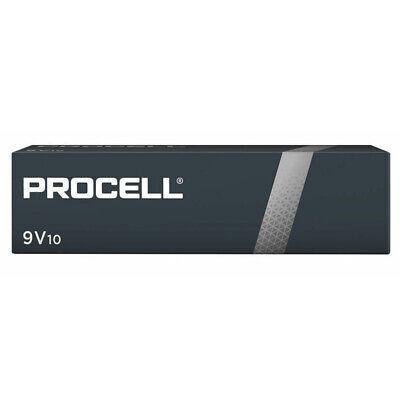 20 x Duracell 9V PP3 Industrial Procell Batteries, Smoke Alarm, LR22 BLOC MN1604 2