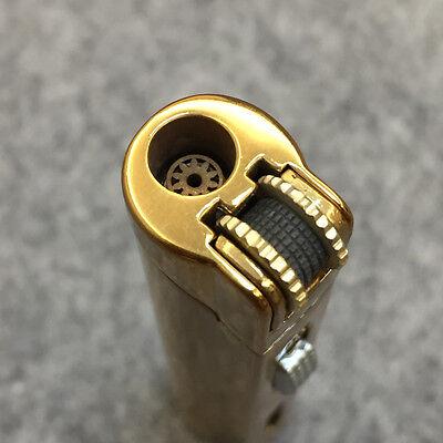 Lot 5pcs  Windproof  Jet  Torch Lock Flame Cigar Cigarette Flint Lighter Gold 4