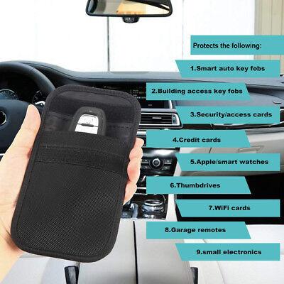 2x RFID Key Pouch Car Signal Blocker Faraday Case for Keyless Entry Vehicles 4
