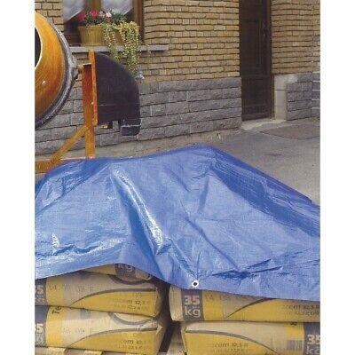 Telo Pvc Telone Occhiellato Esterno Impermeabile Esterno Blu Gazebo Piscina Wnd 3