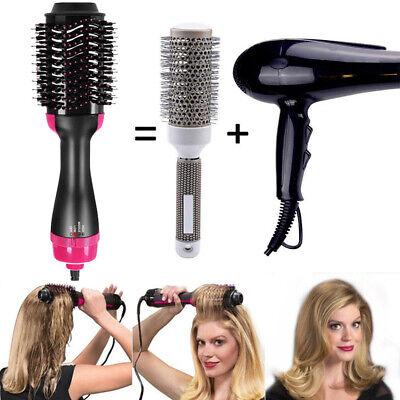 One-Step Hair Dryer Brush Volumizer Hair Comb Hair Straightener Curler 220-240V 2