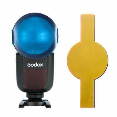20PCS Color Filters For Godox V1 TTL Round Head Portable Flash Speedlite 8