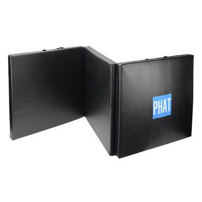 PHAT® 3-panel Folding Gymnastics Mat Thick Gym Fitness Exercise Yoga Tumbling 2