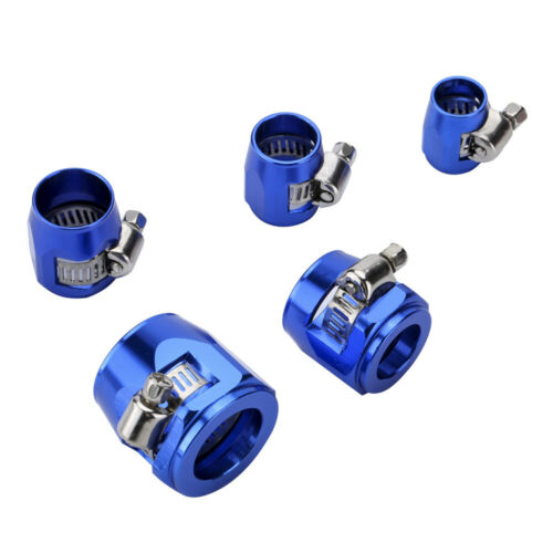 Great for Fuel Hose Oil Line Brake Line Water Pipe and Gas Line,1 Pcs Fuel line Mounting Clamps,Aluminum Hose Fitting Adapter AN4 AN6 AN8 AN10 Hose Separator Clamp