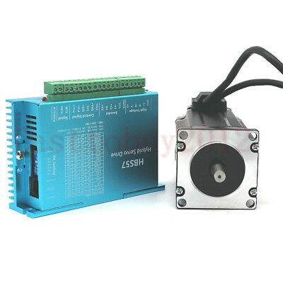 4Axis/3Axis 314oz-in 2.2NM Closed loop Stepper Motor Nema23 Drive For CNC Router 4