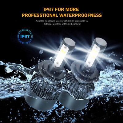 2x H7 LED Headlight Kit 1950W 295000LM High-Low Beam Bulb CREE 6500K Lamp White 2