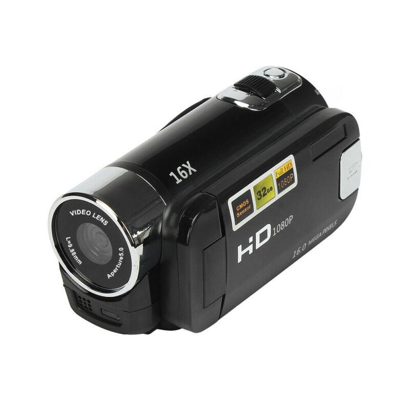 1080P HD Camcorder Digital Video Camera TFT LCD 24MP 16x Zoom DV AV Night Vision 3