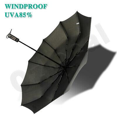 Automatic Umbrella Auto Open Close Compact Folding Anti UV Rain Windproof 10Ribs 2