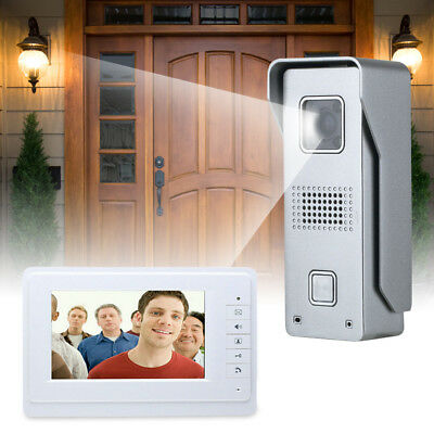 Video Gegensprechanlage Türsprechanlage 2 Kamera+ 2 Monitor Klingel Sprechanlage 3