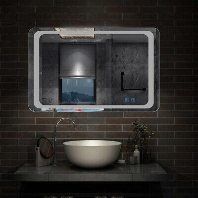 Specchio Da Bagno Con Luci Led.Specchio Da Bagno Con Illuminazione Led Anti Appannamento