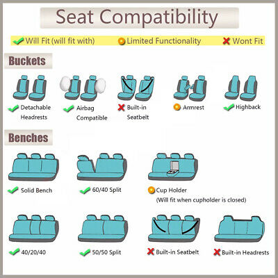 Enjoyable Car Pass Supreme Automobile Universal Fit Car Seat Covers Caraccident5 Cool Chair Designs And Ideas Caraccident5Info