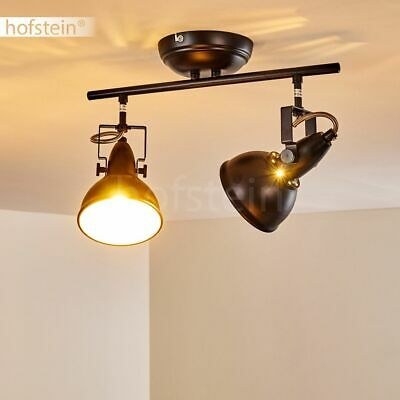 Vintage Dielen Strahler Wand Lampe Schalter Wohn Schlaf Raum Leuchte verstellbar