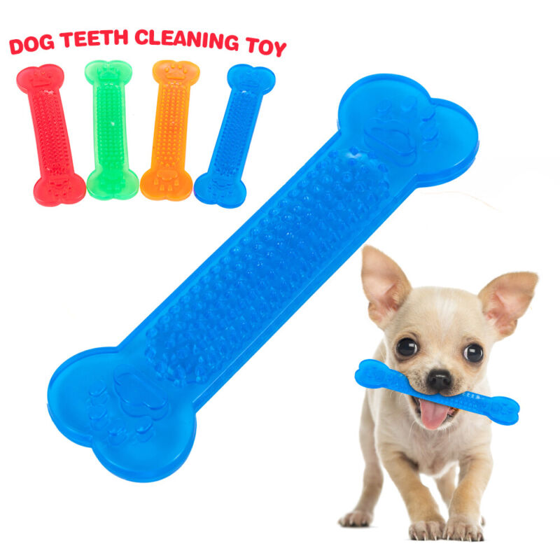 Durable Dog Chew Toys—Rubber Bone toy for Aggressive Chewers— Indestructible 2