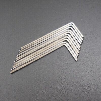 10Pcs M3 L-Handle Hardened Steel Hex Allen Hexagon Key Socket Wrench 1.5MM Edge 6