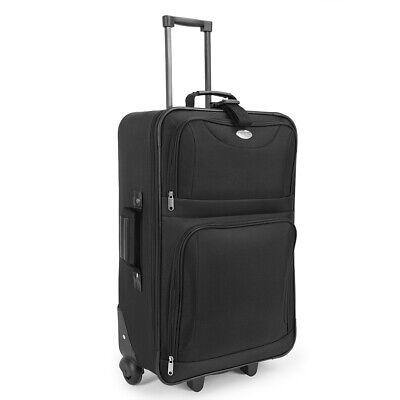 Kofferset Reisekoffer 5 Taschen Trolley Reise Koffer Set Tasche S M L XL schwarz 8