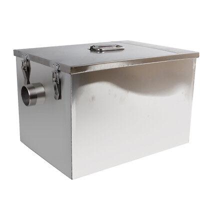 USA Stainless Steel Commercial Grease Trap Interceptor Filter Kit for Restaurant 10