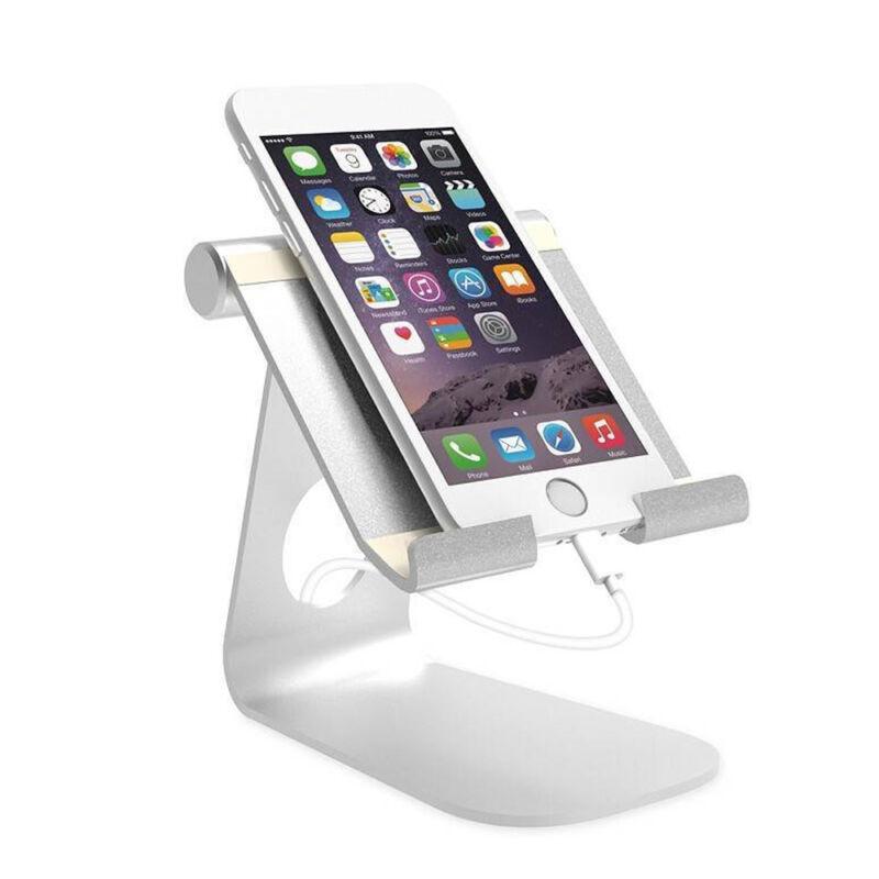 Universal Tablet iPad Ständer Winkel verstellbar für 7-13-Zoll-Tablet Silber 7