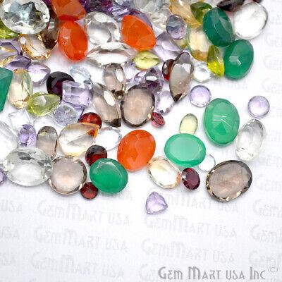 AAA Mixed Gems Semi Precious Loose Natural Gemstones Lots Faceted Cut (MX-60003) 8