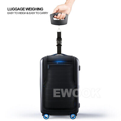 Electronic Digital Portable Scale Luggage Weight Hanging Travel 50 KG 10G AU 5