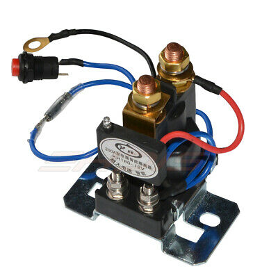 12V 200 AMP Dual Battery Isolator Auto Battery Emergency Switch Controller Relay 4